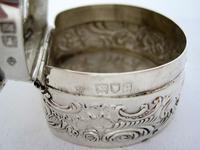 Edwardian William Comyns Silver Jewellery or Pot Pourri Box (5 of 6)