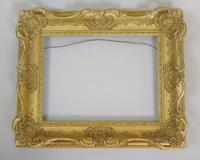 "Good Early Victorian Swept Gilt Frame Suit Painting 16""x12"" (3 of 3)"