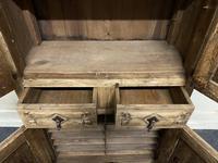 French Gothic Oak Rustic Cupboard or Wardrobe (4 of 22)