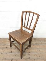 Four Similar 19th Century Stick Back Farmhouse Chairs (5 of 7)