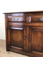 Antique Oak Dresser Base Sideboard (5 of 10)