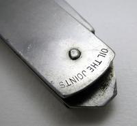 Rare British Army WWII 1945 Vintage Folding Jungle / Burma Jack Clasp Knife. Military Broad Arrow mark, World War 2 (7 of 7)