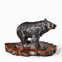 Large Meiji Period Bronze Bear by Genryusai Seiya (6 of 7)