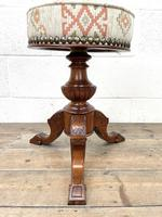 Antique Rise & Fall Piano Stool (4 of 6)