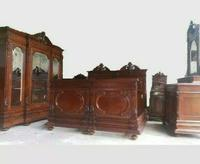 Italian Neo Renaissance Bedroom Set