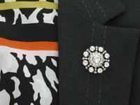 6.10ct Diamond & 9ct Yellow Gold Brooch / Pendant - Antique Victorian (15 of 15)