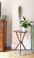 Antique Gypsy Table with Bobbin Legs c.1900 (2 of 16)