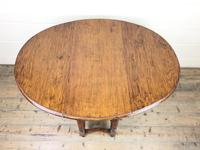 Early 20th Century Antique Oak Gateleg Table (8 of 8)