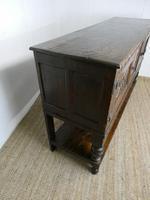 19th Century Carved Oak Cupboard / Dresser (6 of 16)