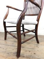 Antique 19th Century Spindle Back Chair (4 of 13)
