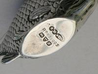 Edwardian Novelty Silver Fish Pin Cushion, Lr110521 (11 of 11)