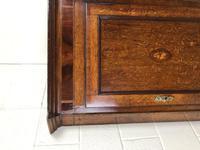 Georgian Oak Corner Cupboard with Inlay (3 of 10)