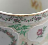 Fine & Unusual Chinese Famille Rose Export Porcelain Tankard 18th Century (9 of 9)