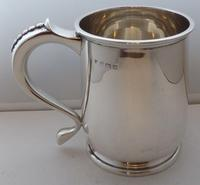 1939 1 Pint Tankard Hallmarked Solid Silver Christening Mug William Neale (5 of 8)