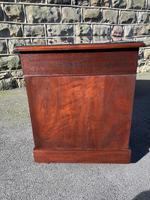Antique Mahogany Pedestal Desk (8 of 12)