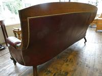 19th Century Aesthetic Leather Sofa (8 of 11)