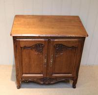 Vintage French Oak Side Cabinet (6 of 8)