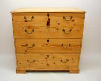 Large  2 Part Victorian Pine Mule Chest - Refurbished (2 of 27)