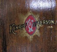 Antique  Mahogany Glazed Solicitors Bookcase (6 of 9)