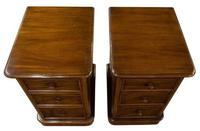 Pair of Victorian Mahogany Bedside Cabinets (5 of 7)