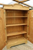 Fantastic! Old Pine 'Knock Down' Cupboard/ Wardrobe With Shelves - We Deliver! (9 of 14)