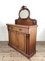Victorian Mahogany Mirror Back Chiffonier Sideboard (8 of 13)