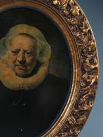 Oval Gilt Framed Portrait After Rembrandt (4 of 6)