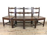 Four 19th Century Oak Farmhouse Chairs (3 of 17)