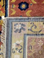 Antique Chinese Ningxia Rug 1.59m x 0.74m (9 of 9)