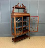 Inlaid Mahogany Edwardian Display Cabinet (10 of 12)
