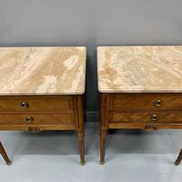 Set of 4 French Marble Top Side Tables (5 of 11)
