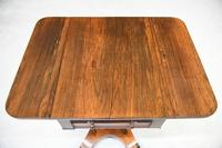 Rosewood Drop Leaf Work Table (5 of 12)