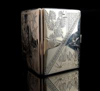 Antique Victorian Silver Card Case, Aesthetic (9 of 16)