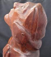 Cecil Hugh Twistleton, The Temptation of Eve, Carved Elm Sculpture, 1952 (5 of 10)