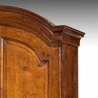 Extremely Well-drawn Mid 18th Century Oak Bureau Cabinet (5 of 5)