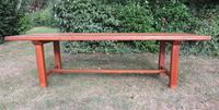 Antique French Elm & Ash Farmhouse Dining Table (3 of 9)