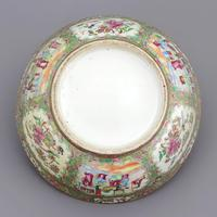 19th Century Cantonese Famille Rose Porcelain Bowl c.1880 (8 of 8)