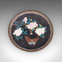 Antique Decorative Plate, Japanese, Cloisonne, Fruit, Serving Dish, Victorian (5 of 9)
