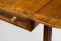 Regency Period Mahogany Sofa Table of Shallow Proportions (3 of 3)