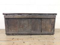 Antique Oak Panelled Coffer (8 of 8)