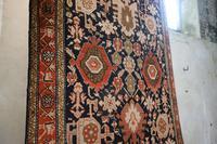 Extremely Long Early 20th Century Kuba Kelleh Corridor Carpet - Rug (6 of 11)