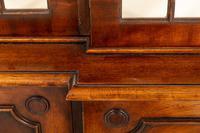 Regency Style 4 Door Breakfront Mahogany Bookcase (2 of 9)