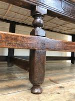 18th Century Panelled Oak Settle (7 of 10)