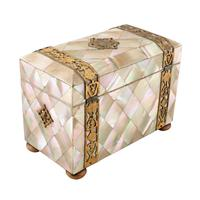 Mother of Pearl Tea Caddy (5 of 8)