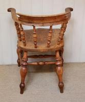 Elm And Beech Smokers Bow Armchair (10 of 10)