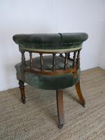 19th Century Oak Desk Chair (6 of 7)