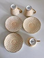Beautiful Fine China Carlton Ware Polka Dot Coffee Set 1920's (21 of 25)