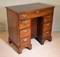 Mahogany Kneehole Desk 18th Century (2 of 5)