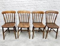 8 x 19th Century Windsor Kitchen Chairs (6 of 9)