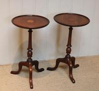 Pair of Inlaid Mahogany Wine Tables (5 of 10)